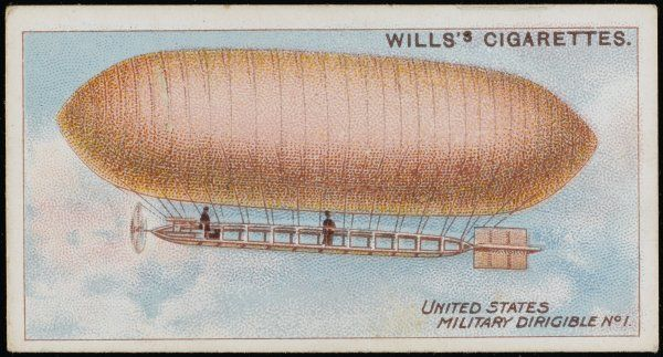 The BALDWIN - United States military dirigible Number 1
