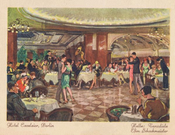 The ballroom or dance hall in the Hotel Excelsior, Berlin, late 1920s Date: late 1920s