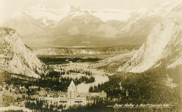 Banff Springs Hotel - Bow Valley, Canada