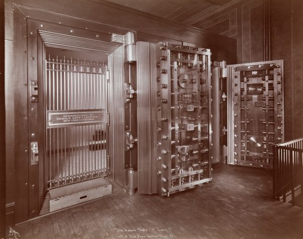 The Diebold Safe & Lock Co., Vault at The New Britain Trust Co. Bank Vault