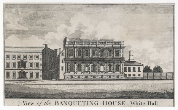 BANQUETING HOUSE Designed by Inigo Jones