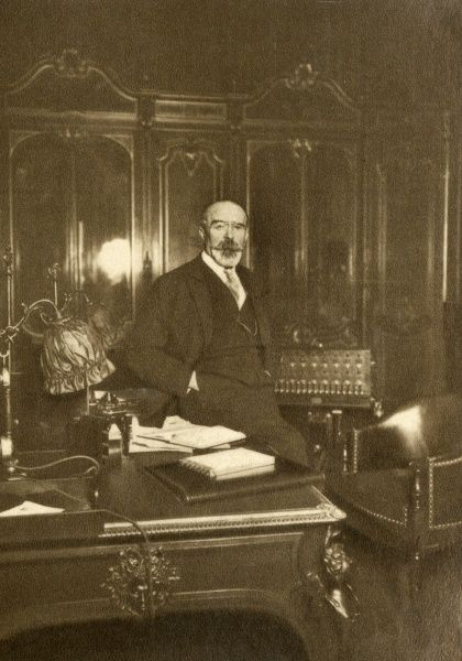 JEAN LOUIS BARTHOU French lawyer and statesman, photographed in 1931. Date: 1862 - 1934