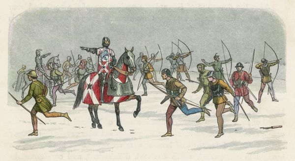 Lord Fauconbridge at the Battle of Towton