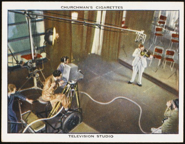A BBC Television production during the early days
