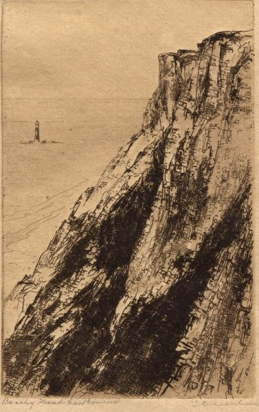 Beachey Head, Eastbourne. Date: Unknown
