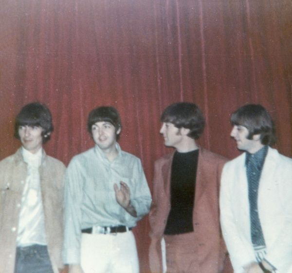 The Beatles photographed around 1964. From left: George Harrison, Paul McCartney, John Lennon and Ringo Starr