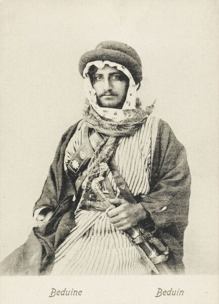 Middle Eastern Bedouin Man