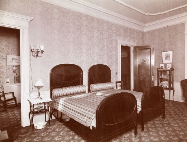 Bedrooms. Bedroom with two twin beds visible