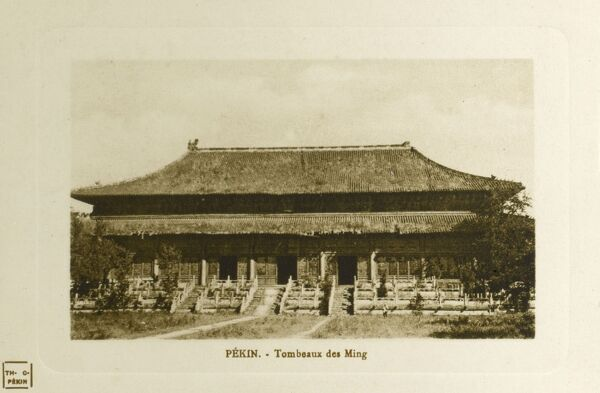 Beijing, China - Ming Dynasty Tombs Date: circa 1910