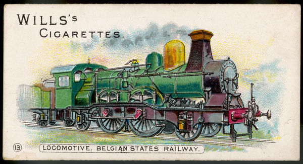 Locomotive of the Belgian State Railways
