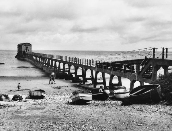 The Lifeboat Station at Bembridge, Isle of Wight, England
