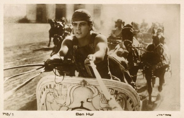 Arguably the greatest of Hollywood's silent epics, Fred Niblo's 4 million dollar film stars Ramon Novarro in the title role, Francis X Bushman as Messala. Date: 1925