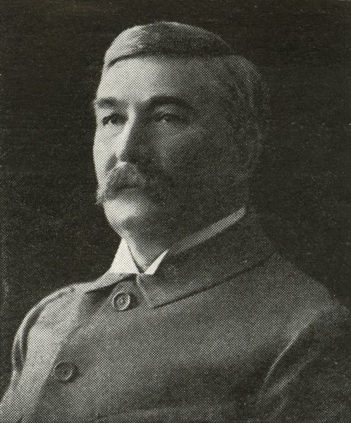 Bennet Burleigh(c.1840-1914), war correspondent for The Daily Telegraph
