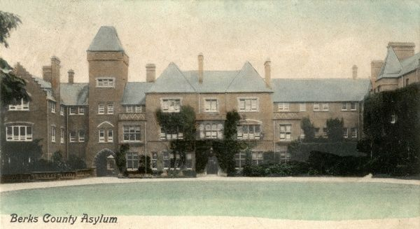 The Berkshire County Lunatic Asylum at Moulsford, near Wallingford. Later known as the Berkshire Mental Hospital, it was renamed Fairmile Hospital in 1948
