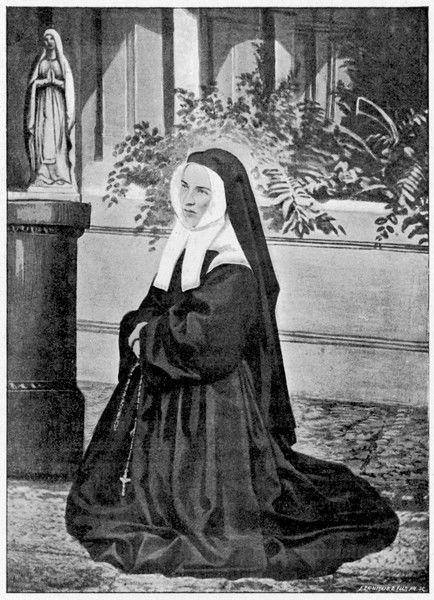 BERNADETTE SOUBIROUS French visionary and saint as a nun at Nevers