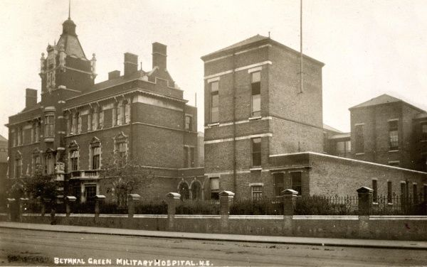 Bethnal Green Military Hospital, Cambridge Heath Road, East London