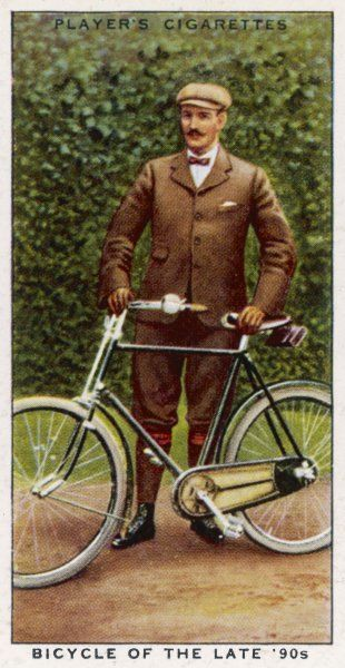 A cyclist of the 1890s