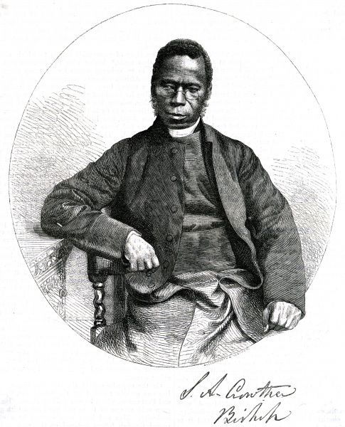 SAMUEL ADJAI CROWTHER African churchman, bishop of the Niger Territory Date: 1809 - 1892