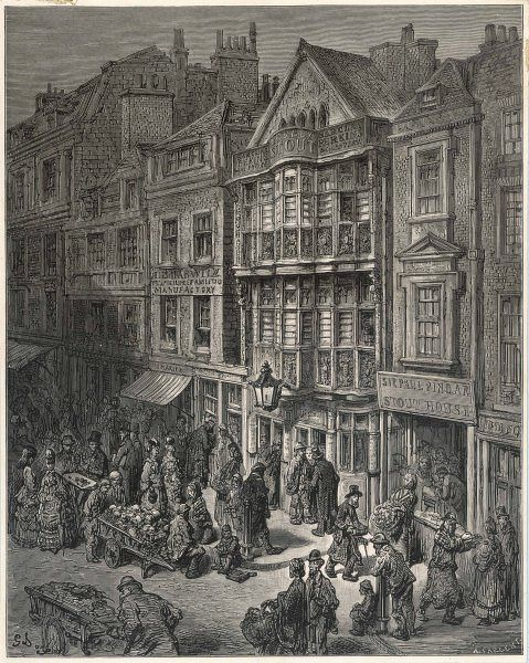 Bishopsgate Street, in the City of London