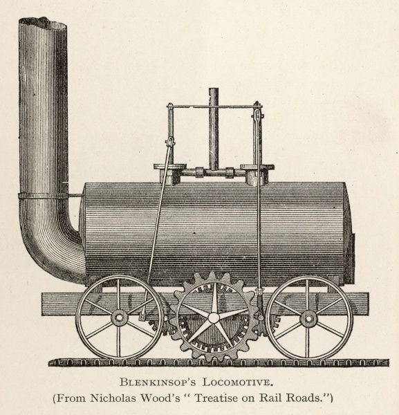 BLENKINSOP'S LOCOMOTIVE at Middleton Colliery