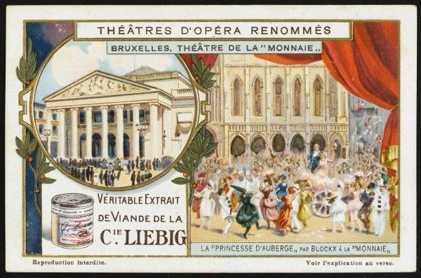 'LA PRINCESSE A L'AUBERGE' (The Princess at the inn) performed at the theatre de la Monnaie, Bruxelles, Belgium