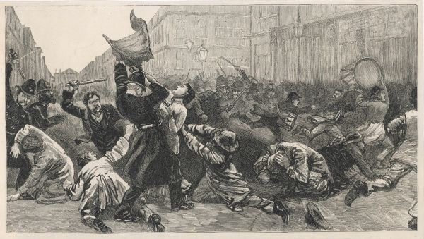 On 13th November 1887 a demonstration organised by the Social Democratic Federation and the Irish National League in Trafalgar Square in London turned into a riot after police and troops tried to break it up