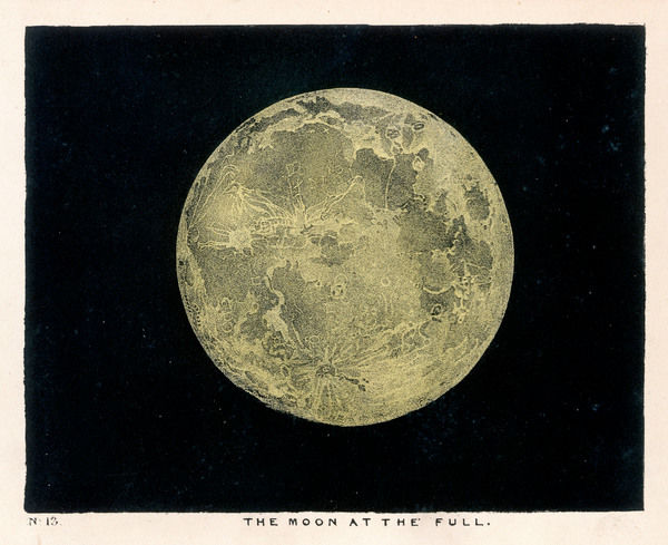 The Moon at the full