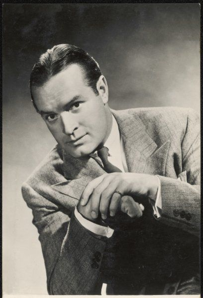 BOB HOPE American comedian and film actor