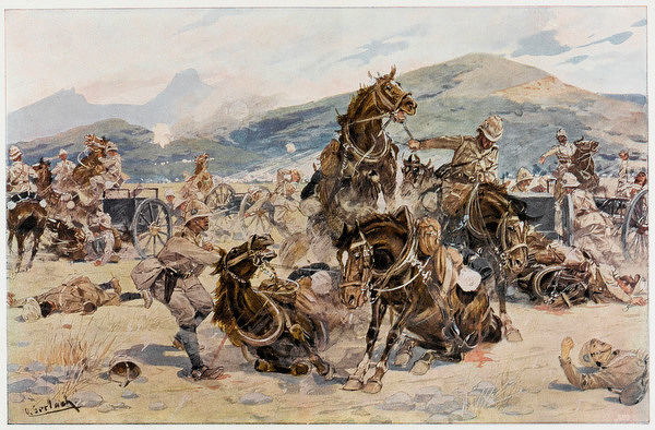 BATTLE OF COLENSO Buller fails to dislodge the Boers from their positions and has to retire, abandoning ten guns