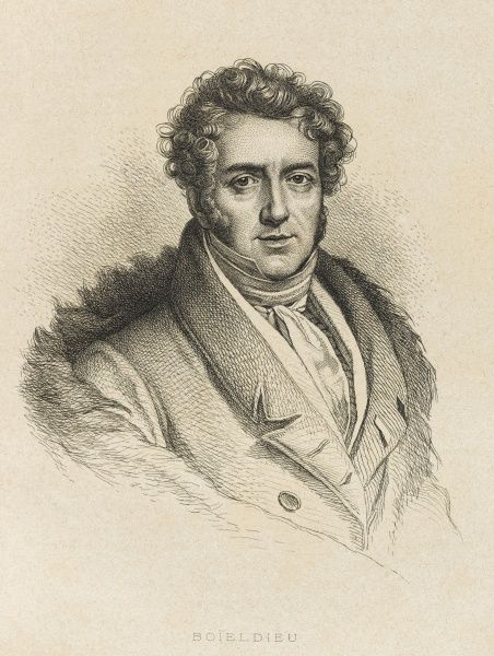 Francois Adrien Boieldieu. French composer, mainly of operas