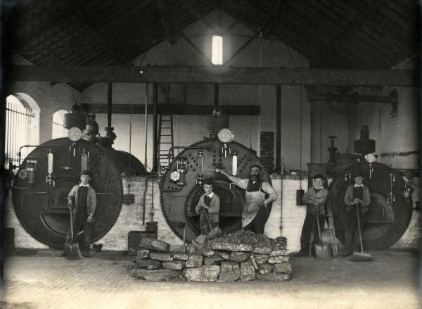The boiler room at the Walsall and West Bromwich District School on Pennyhill Lane, Wigmore