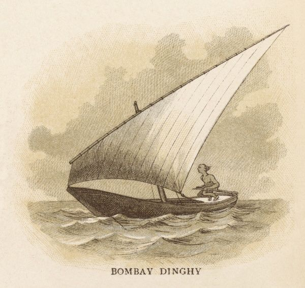 Sailing dinghy of Bombay