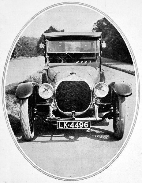 A photograph showing Countess Fitzwilliam's new 30h.p. Sheffield-Simplex with 'Pytchely' Limousine body by Van Den Plas
