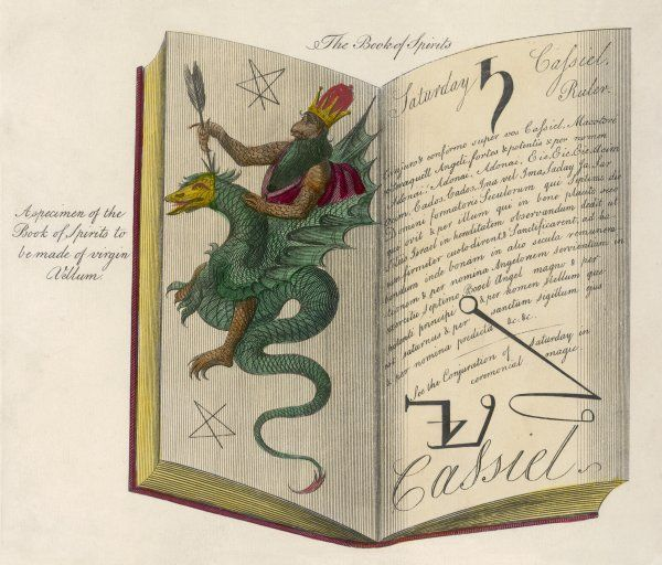 'A specimen of the Book of Spirits to be made of virgin Vellum&#39