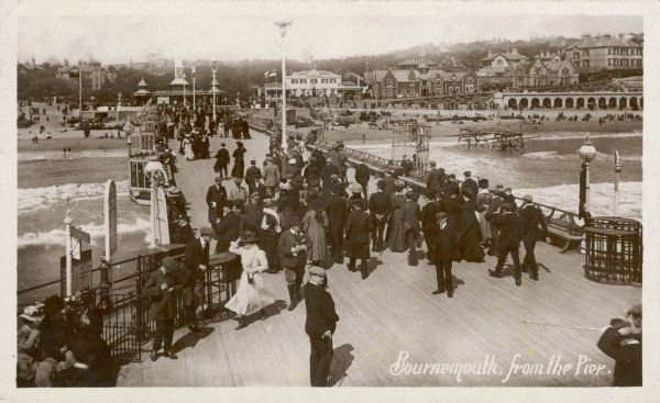 Bournemouth, Dorset: the Pier