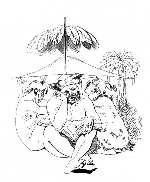 SIR JOHN BOWRING Traveller and author, depicted as translator of the poetry of the Sandwich Islands. Date: 1792 - 1872