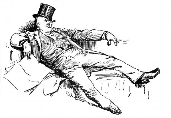 CHARLES BRADLAUGH makes himself comfortable on a bench in the House of Commons. Date: 1833 - 1891