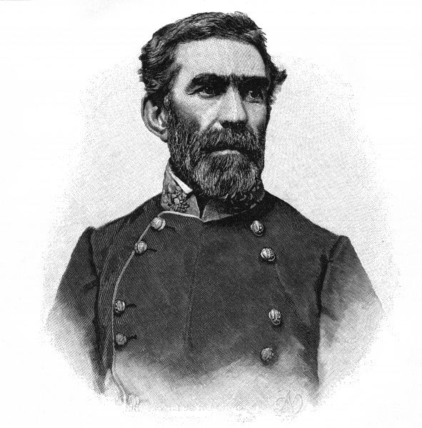 BRAXTON BRAGG Confederate military commander during the war between the States. Date: 1817 - 1876