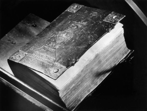 Geneva 'Breeches' Bible, photographed at Whitehall, Cheam. Date: 1557
