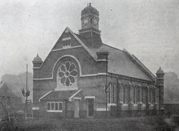 A view of the chapel at the new Brentford Union workhouse in Middlesex, opened in 1902 Date: 1902