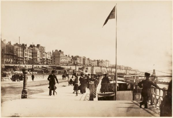 Brighton, Sussex: the sea front