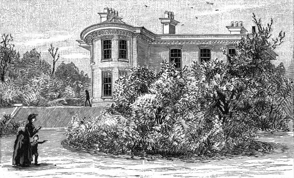 The home of John Bright, - 'One Ash', Rochdale (a suburb of Manchester, Lancashire.) Date: 1859