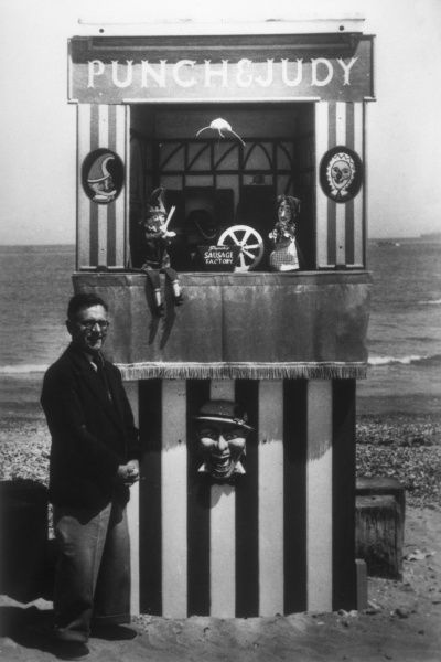 Ernest Brisbane and his Punch & Judy Show