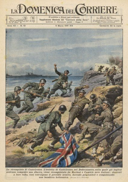 Greece : British positions are re-taken by the Italians
