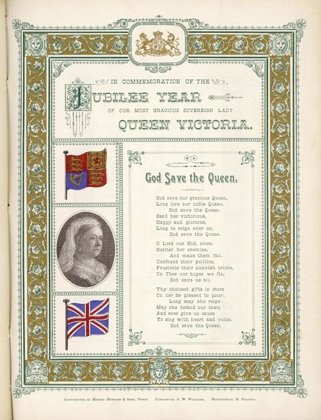 The British National Anthem, featured on a tribute to Victoria on the occasion of her Golden Jubilee
