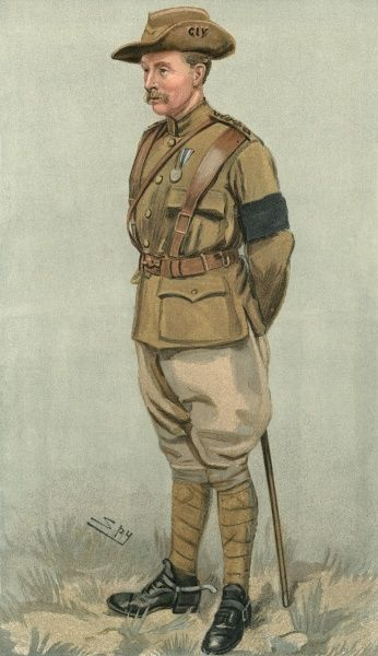 A British Officer in the Boer War. (Mackunnon) Date: 1901