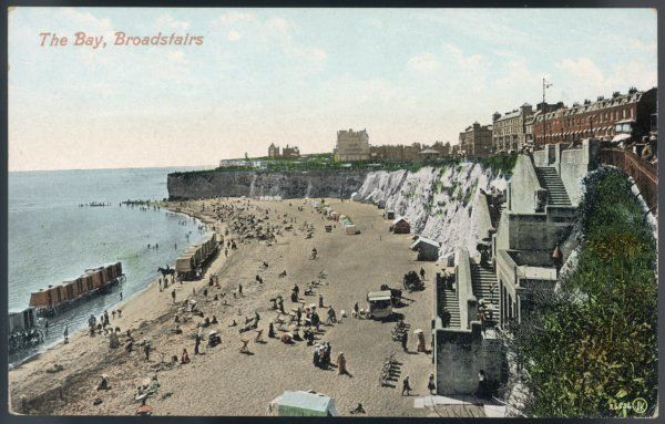 Broadstairs, Kent: the bay
