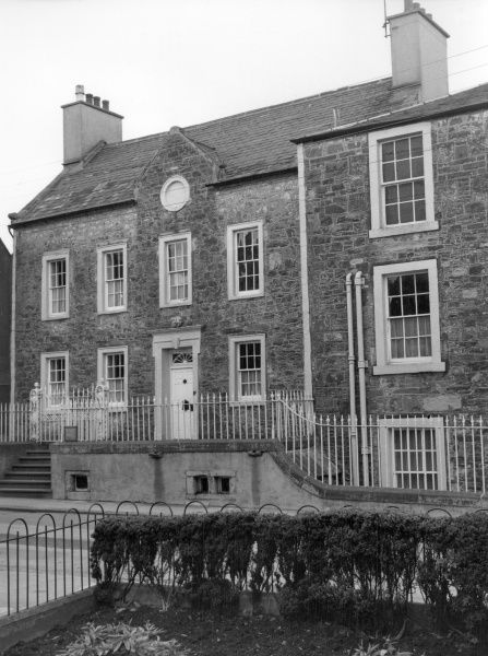 Broughton House, Kirkoudbright, Kirkoudbrightshire, Scotland, once the home of Scottish artist E. A. Hornel. Date: late 18th century