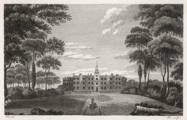 Bruce Castle in Middlesex, the seat of James Townsend. Later it will become a museum, and our Library will act as agent for its collection, notably of postal items