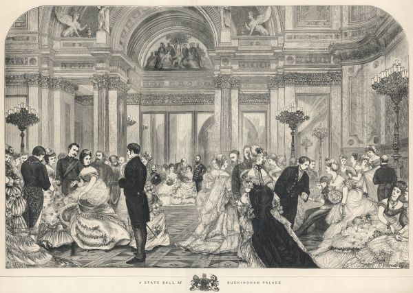 A State Ball at Buckingham Palace